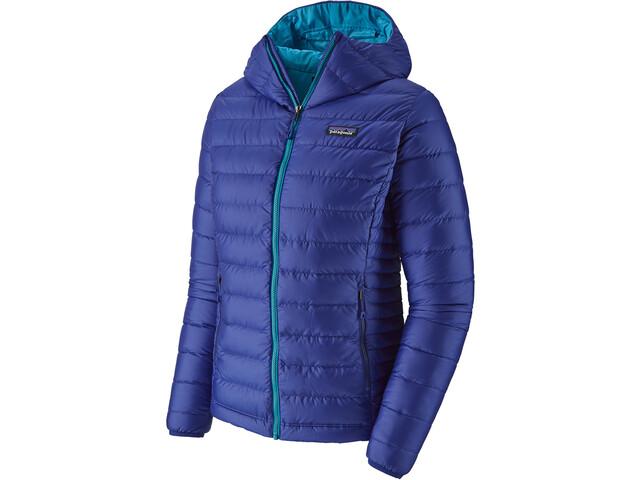 Patagonia Down Sweater Hoodie Damen cobalt blue